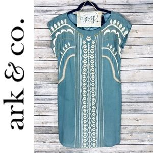 Ark & Co BOHO Embroidered Dress